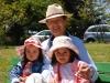 Huan and granddaughters
